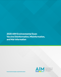 Environmental Scan report cover image